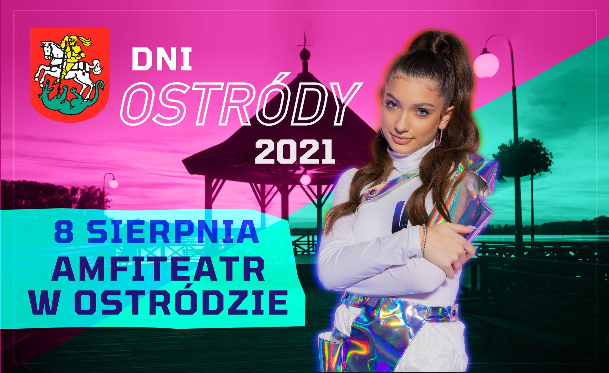 VIKI GABOR PIERWSZĄ GWIAZDĄ DNI OSTRÓDY 2021